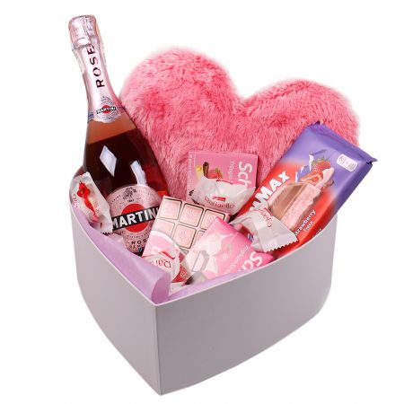 Product Set Pink Heart