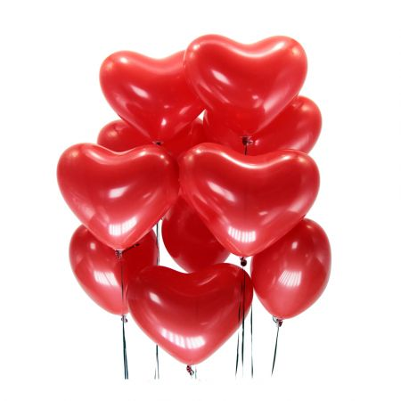 Order 15 helium balloons 'Heart' in the online store