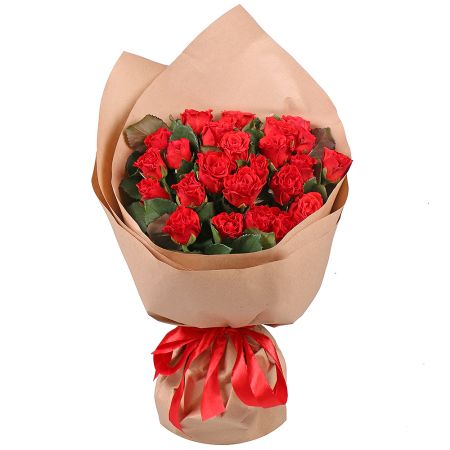 Bouquet 25 red roses