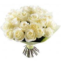 Bouquet White silk