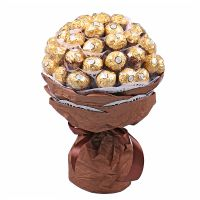 Candy bouquet Gold