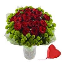 Bouquet Love-present + balloon
