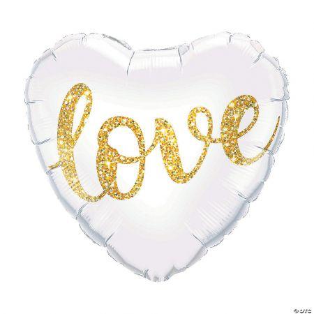 Product Love Glitter Heart Balloon