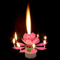 Product Musical Candle Lotus