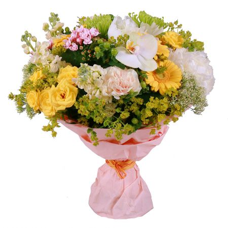 Order delicate flowers ''Soft gold'' with delivery to any city