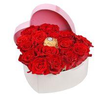 Product Heart of roses El Toro