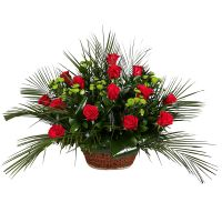 Bouquet Funeral arrangement Feniks